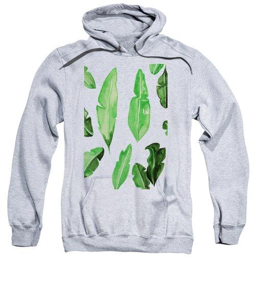 Leaves Sweatshirt by Cortney Herron