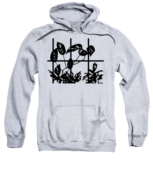 Leaves In Window Sweatshirt