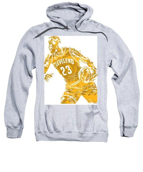 Lebron James Cleveland Cavaliers Pixel Art 20 Sweatshirt