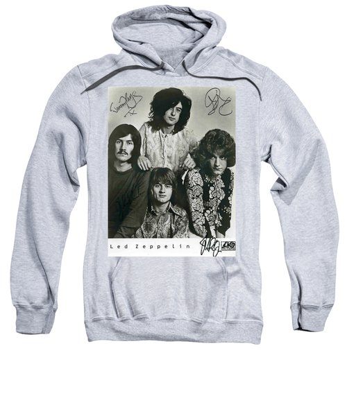 Led Zeppelin Band Autographs Sweatshirt