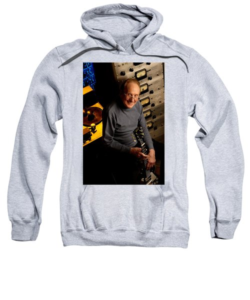 Les Paul With The Octopus By Gene Martin Sweatshirt