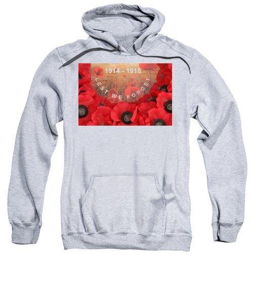 Lest We Forget - 1914-1918 Sweatshirt