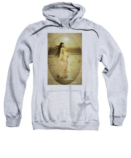 Let Your Soul And Spirit Fly Sweatshirt by Linda Lees