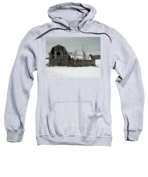 Letchworth Barn 0077b Sweatshirt