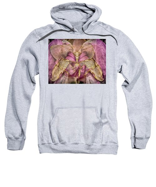 Lether Butterfly Or Not Sweatshirt