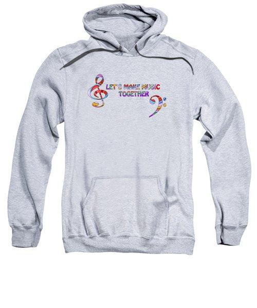 Let's Make Music Together - Lavender Sweatshirt