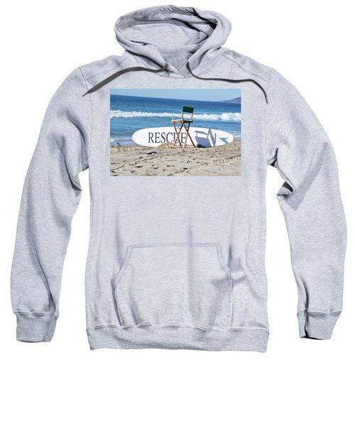Lifeguard Surfboard Rescue Station  Sweatshirt
