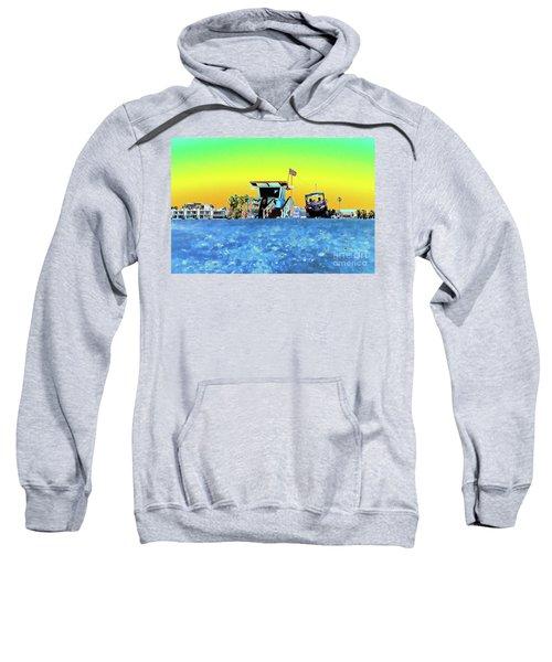 Lifeguard Tower 1 Sweatshirt