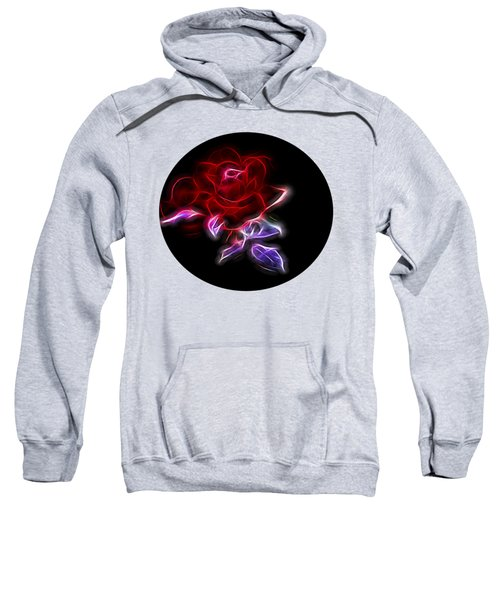 Light Play Rose Sweatshirt