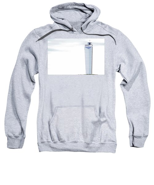 Sweatshirt featuring the photograph Lighthouse At Cape Jervis by Stephen Mitchell