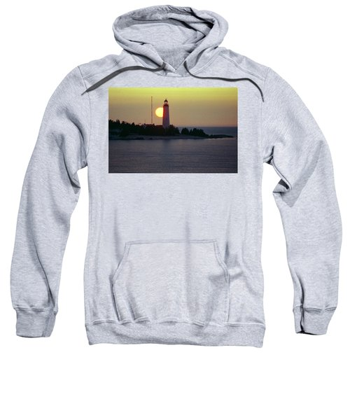 Lighthouse At Sunset Sweatshirt