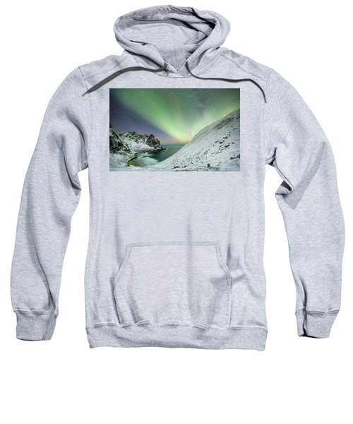 Lights Above Kvalvika Sweatshirt