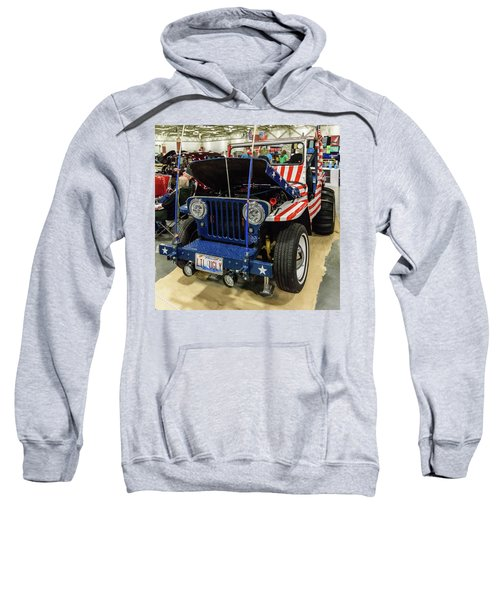 Sweatshirt featuring the photograph Lil Ugly by Randy Scherkenbach
