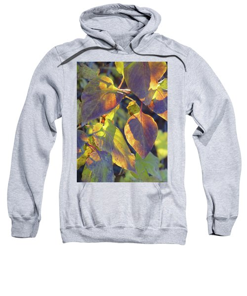 Lilac Leaves Sweatshirt