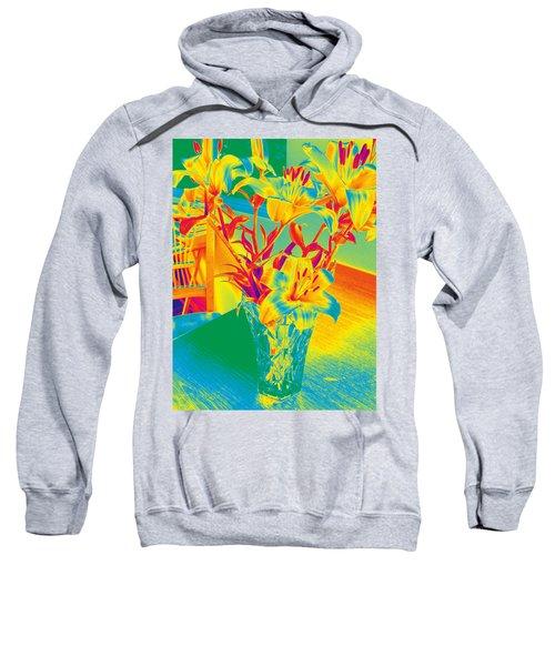 Lilies #3 Sweatshirt