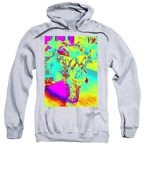 Lilies #4 Sweatshirt
