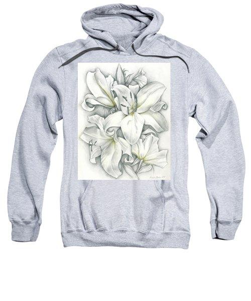 Lilies Pencil Sweatshirt