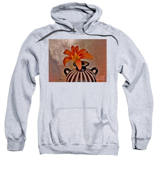 Lily In A Peruvian Vase Sweatshirt