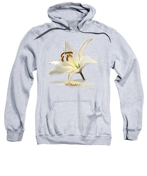 Lily Trumpet Sweatshirt by Gill Billington