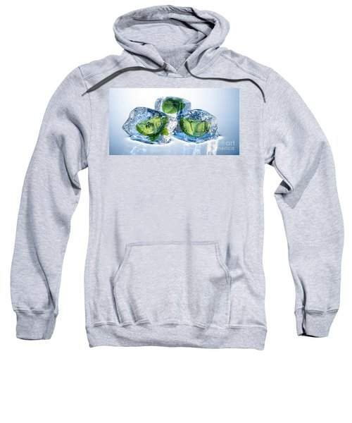 Lime Mint Cubes Sweatshirt