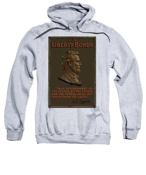 Lincoln Gettysburg Address Quote Sweatshirt
