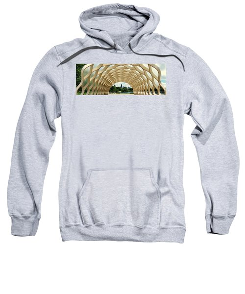 Lincoln Park Zoo Nature Boardwalk Panorama Sweatshirt