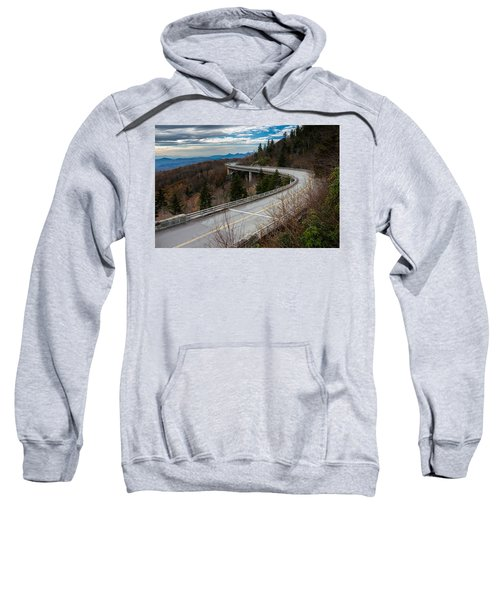Linn Cove Viaduct Late Fall Sweatshirt