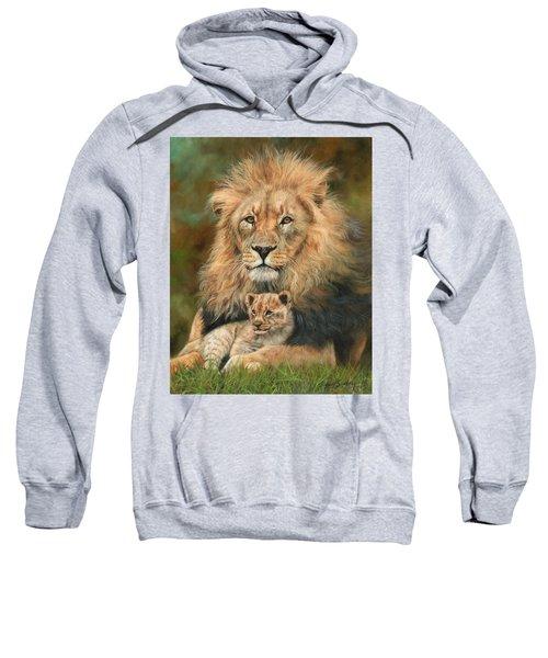 Lion And Cub Sweatshirt
