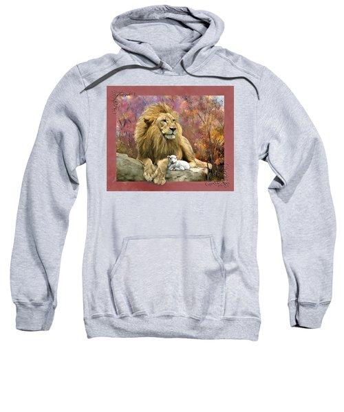 Lion And The Lamb Sweatshirt