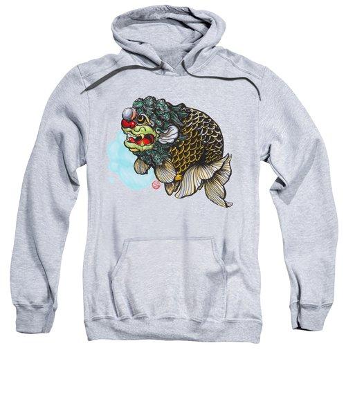Lion Head Ranchu Sweatshirt by Shih Chang Yang