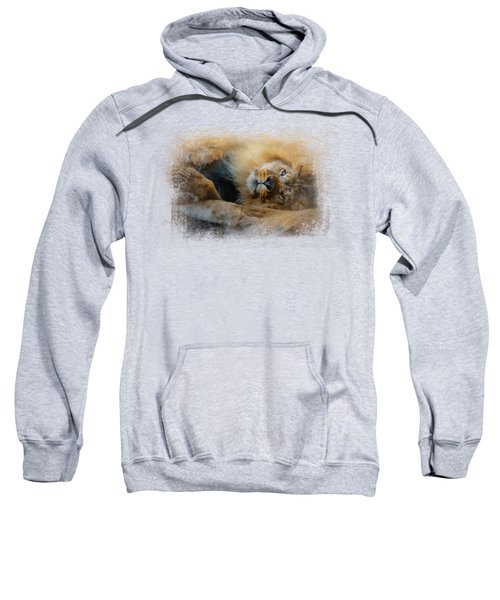Lion Love 2 Sweatshirt by Jai Johnson