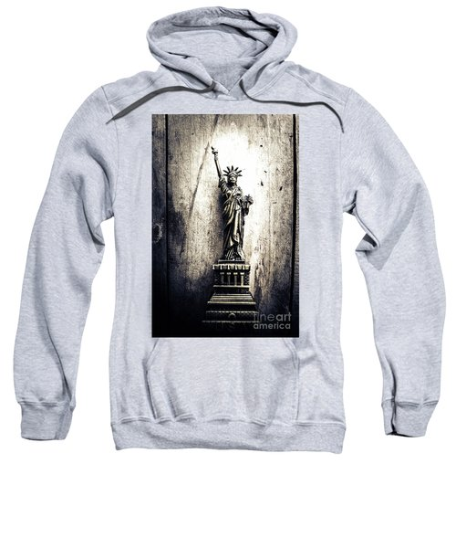 Little Lady Of Vintage Usa Sweatshirt