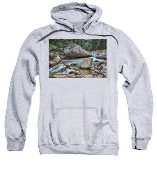 Little Pine Tree Stream View Sweatshirt by James BO Insogna