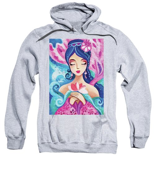 Little Quan Yin Mermaid Sweatshirt