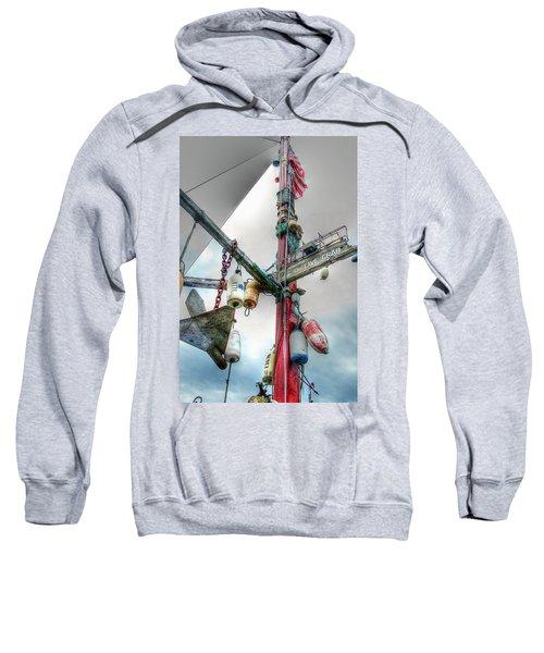 Live Crab Hdr 2164 Sweatshirt