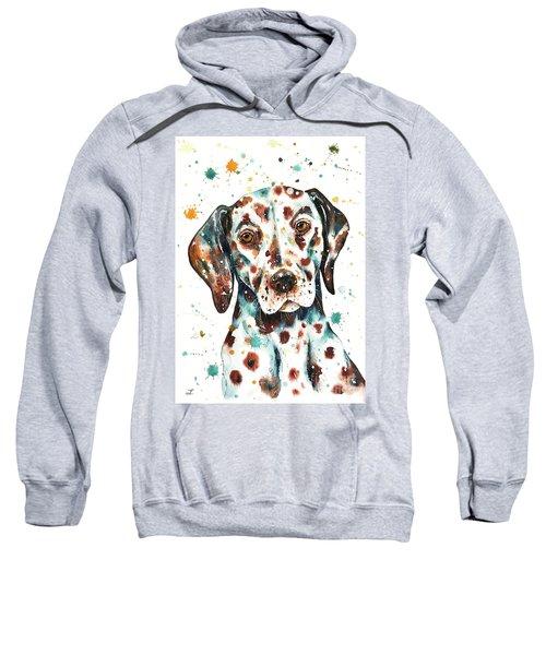 Liver-spotted Dalmatian Sweatshirt