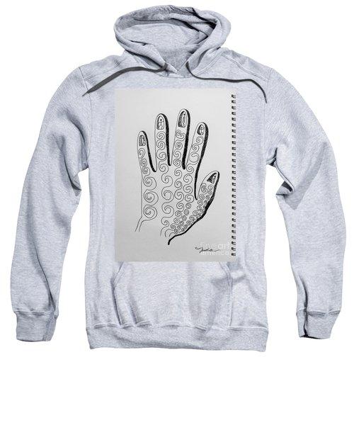 Lives Between The Fingertips Sweatshirt