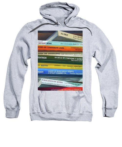 Livres ... Sweatshirt