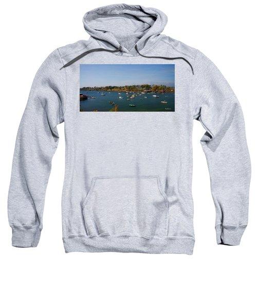 Lobster Boats On The Coast Of Maine Sweatshirt