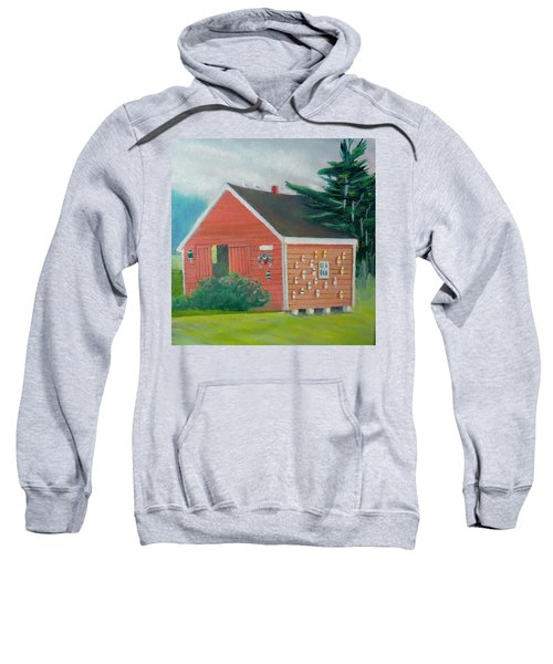 Lobster Buoy Shack Sweatshirt