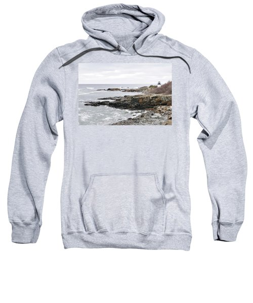 Lobster Point Lighthouse - Ogunquit Maine Sweatshirt