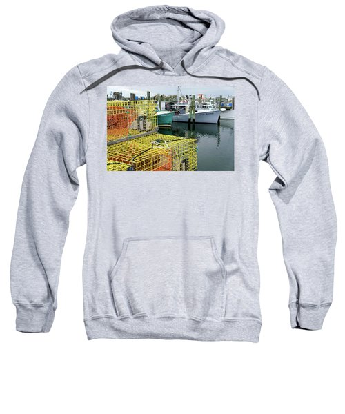 Lobster Traps In Galilee Sweatshirt