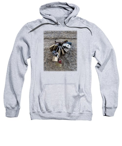 Locked Sweatshirt by Sinder Singh