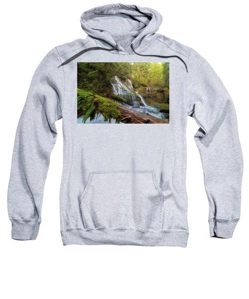 Log Jam By Panther Creek Falls Sweatshirt