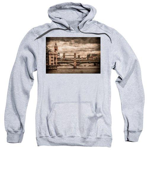London, England - London Bridges Sweatshirt
