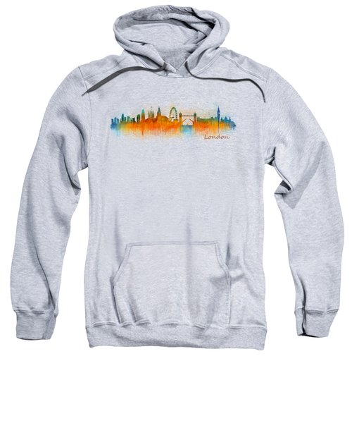 London City Skyline Hq V3 Sweatshirt by HQ Photo