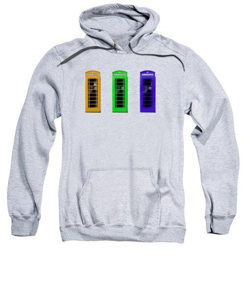 London Telephone Boxes Sweatshirt