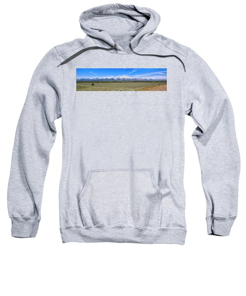 Lone Tree And The Tetons Sweatshirt