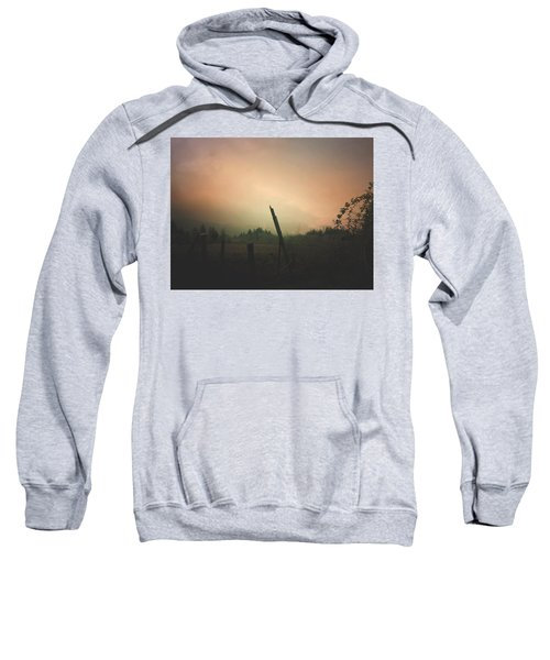 Lonely Fence Post  Sweatshirt