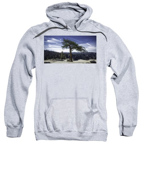 Sweatshirt featuring the photograph Lonesome Tree by Chris Cousins